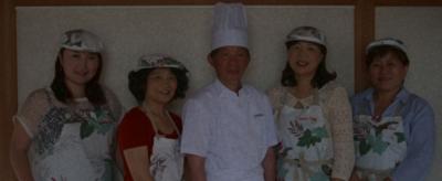 キッチンシェンの中国人シェフ