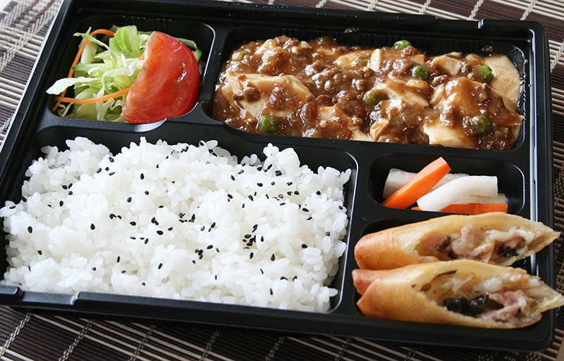 麻婆豆腐の辛さが選べます