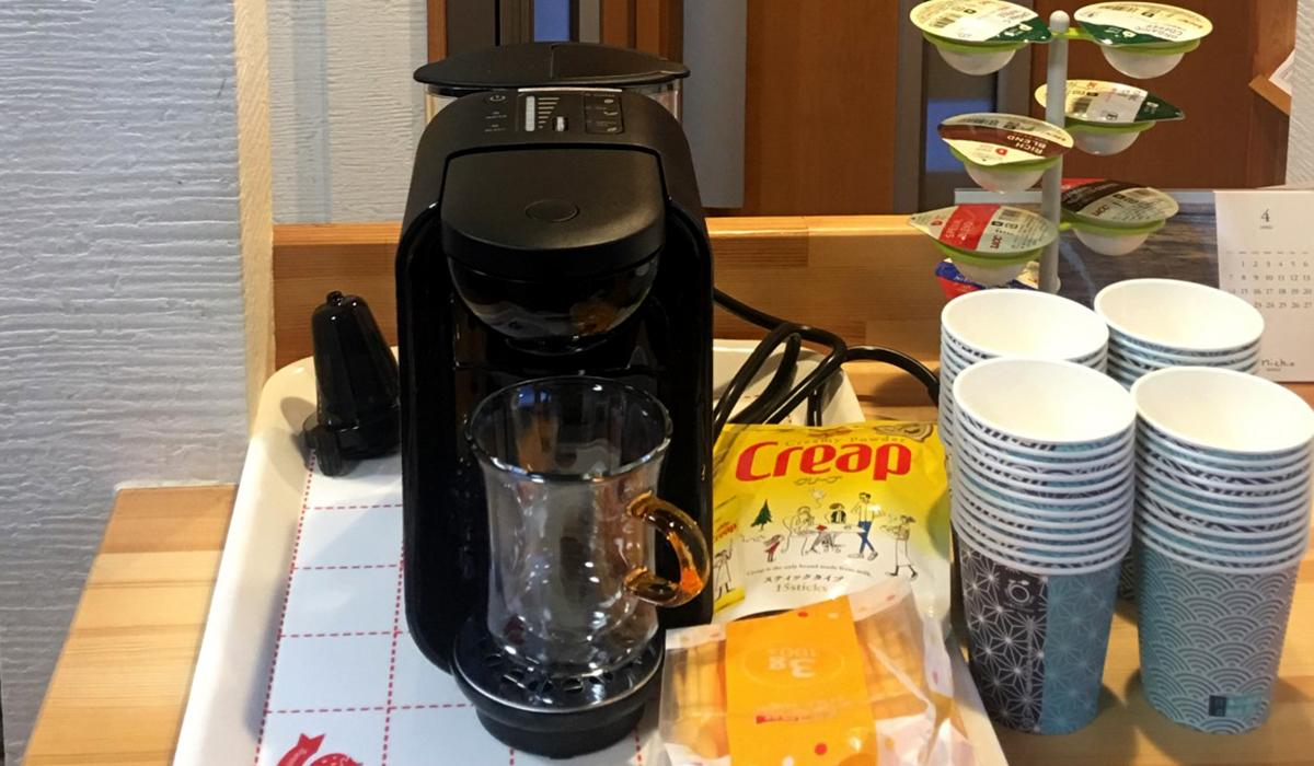 コーヒー無料コーナーを新設しました!